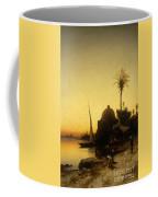 Praying To Mecca Coffee Mug by Herman David Salomon Corrodi