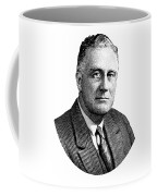 President Franklin Roosevelt Graphic  Coffee Mug