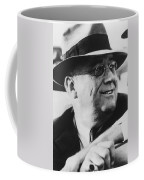 President Franklin Roosevelt Coffee Mug by War Is Hell Store