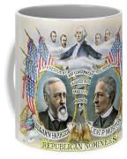 Presidential Campaign, 1888 Coffee Mug