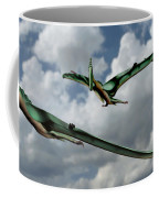 Pterodactyls In Flight Coffee Mug