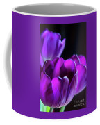 Purple Tulips 1 Coffee Mug