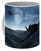 Pursuit Of The Fox  Coffee Mug