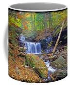 R B Ricketts Falls In Autumn Coffee Mug