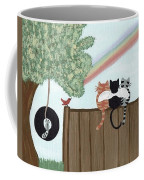 Rainbow Bridge Cats Coffee Mug