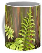 Rainbow Eucalyptus And Fern Coffee Mug