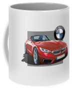 Red 2018 B M W  Z 5 With 3 D Badge  Coffee Mug