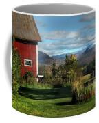 Red Barn In Newbury Vermont Coffee Mug