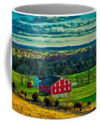 Red Barn - Pennsylvania Coffee Mug