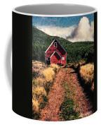 Red Barn Road Coffee Mug
