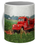 Red Fire Truck Coffee Mug