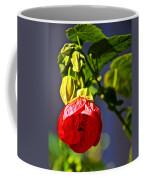 Scarlet Mallow At Pilgrim Place In Claremont-california- Coffee Mug