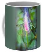 Red Garden Rose Bud Coffee Mug