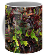 Red Green  Leaves Coffee Mug
