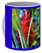 Red Heliconia Hawaii Coffee Mug