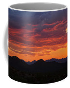 Red Hot Desert Skies  Coffee Mug