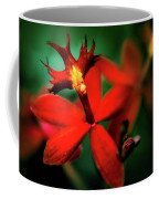 Red Orchid Coffee Mug