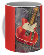 Red Telecaster Coffee Mug