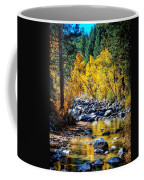 Reflections Of Gold Coffee Mug