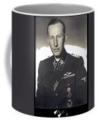 Reinhard Heydrich Circa 1940 Color Added 2016 Coffee Mug