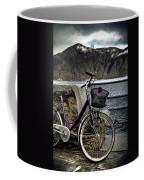 Retro Bike Coffee Mug by Joana Kruse