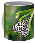 Rice Paper Butterfly 7 Coffee Mug