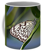 Rice Paper Butterfly 8 Coffee Mug