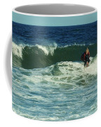 Riding Easy - Jersey Shore Coffee Mug by Angie Tirado
