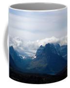 Rising Wolf And Two Medicine Lake Coffee Mug