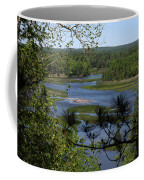 River And Trees Coffee Mug