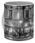 River Street Sweets Candy Store Black White  Coffee Mug