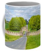 Road To Burghley House Coffee Mug