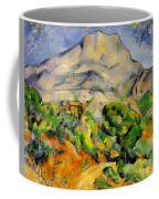 Road To The Montagne Sainte-victoire Coffee Mug