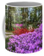 Road With Flowers Coffee Mug