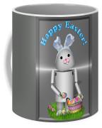 Robo-x9 The Easter Bunny Coffee Mug
