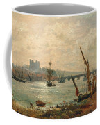 Rochester Cathedral And Castle Coffee Mug