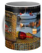 Rockport Ma Lobster Traps Coffee Mug