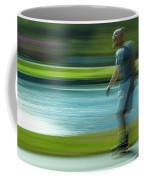 Rollerblading In Forest Park Coffee Mug