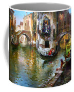 Romance In Venice Coffee Mug