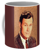 Ron Hayes, Vintage Actor Coffee Mug