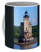 Rondout Lighthouse On The Hudson River New York Coffee Mug