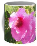 Rose Of Sharon In Abstract Coffee Mug