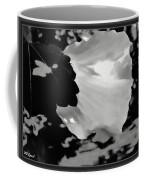 Rose Of Sharon In Black And White Coffee Mug