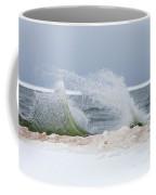 Rough Water Coffee Mug by Fran Riley