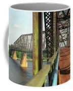 Route 66 - Chain Of Rocks Bridge Coffee Mug