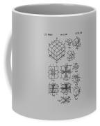 rubik's cube Patent 1983 Coffee Mug