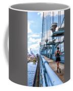 Running The Bridge Coffee Mug