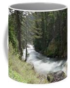 Running Through The Forest Coffee Mug