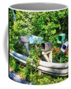 Rural Mailboxes  Coffee Mug