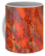 Rust Abstract Coffee Mug